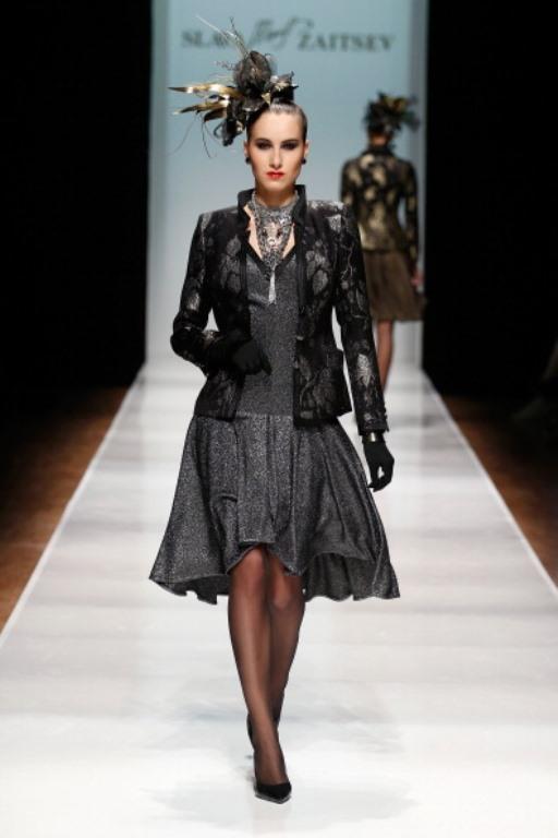 Rusya Moda Haftası & Slava Zaitsev defilesi - 65