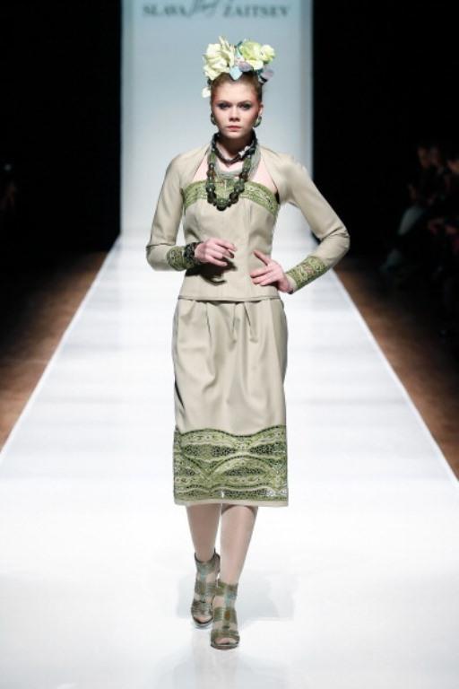 Rusya Moda Haftası & Slava Zaitsev defilesi - 73