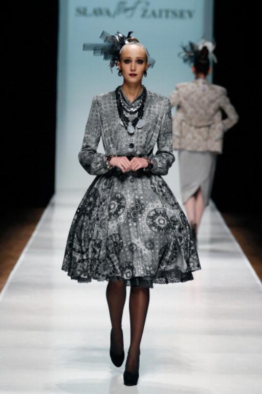 Rusya Moda Haftası & Slava Zaitsev defilesi - 3