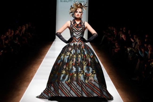 Rusya Moda Haftası & Slava Zaitsev defilesi - 14