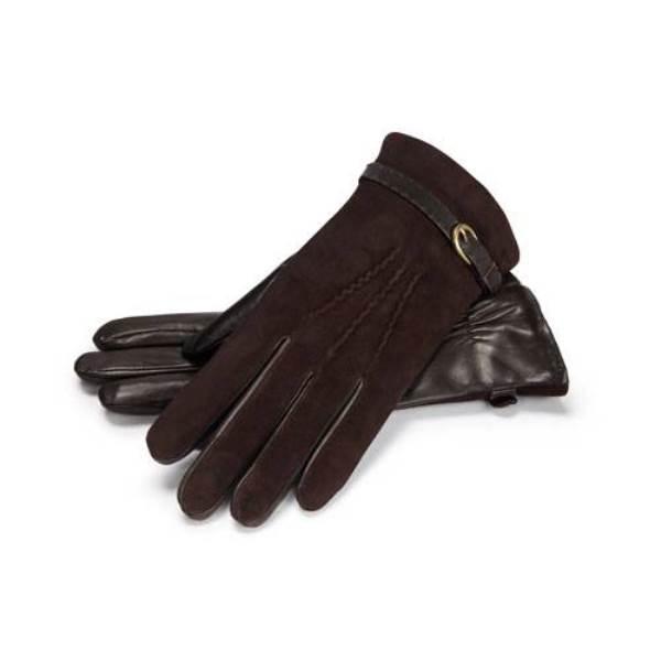 Kahverengi deri eldiven