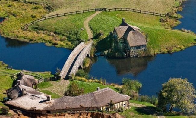 Hobbit köyü, Yeni Zellanda