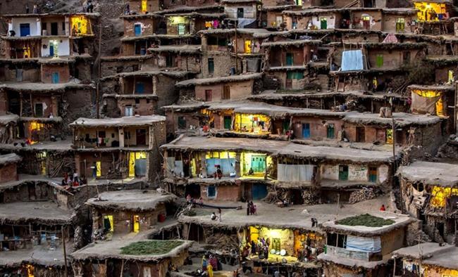 Dağ köyü, İran