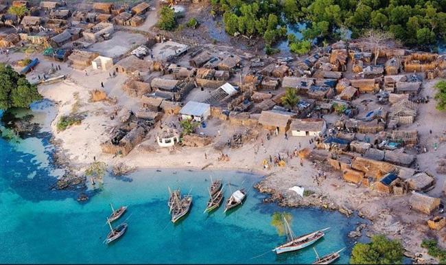 Balıkçı köyü, Zanzibar