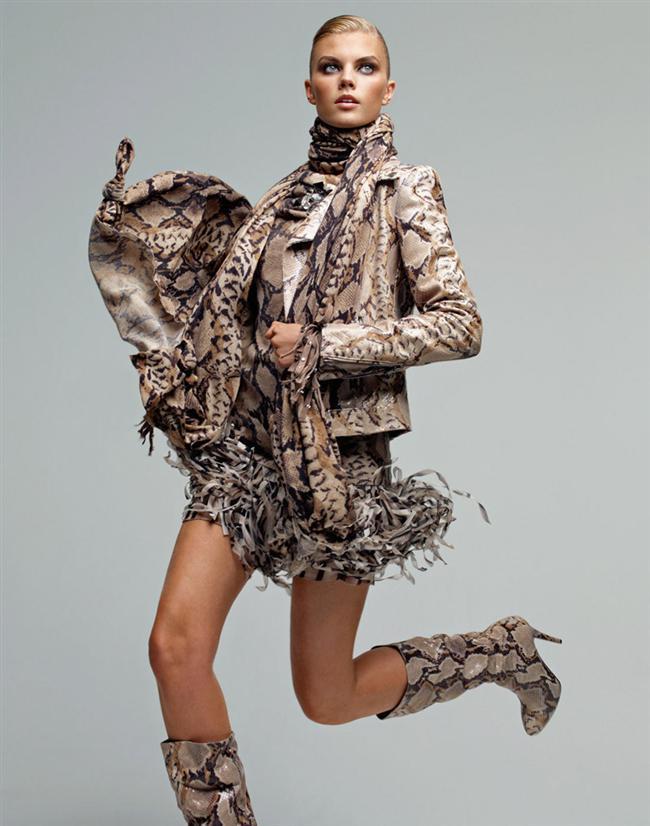 Modacılar doğadan ilham almaya devam ediyor. Gerekse hayvan görsellerinin birebir kullanımı, gerekse hayvan derisi görünümü moda dünyasında bu sezon da çokça ses getiriyor.