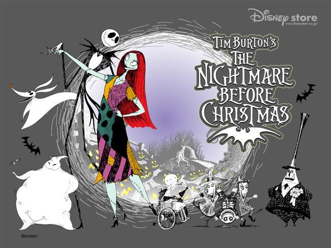 The Nightmare Before Christmas  (Noel Gecesi Kabusu)  Halloween Kentinin Balkabağı Kralı olmaktan usanan Jack Skellington heyecen verici birşeylerin arayışına çıkar. Bu arayışta Christmas Kentini bulur ve tüm dünya üzerinde noel gecesi çocuklara oyuncak dağıtma görevini Noel Baba'dan devralmaya karar verir.