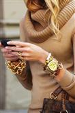 Zincir kolye ve bileklik modası - 5