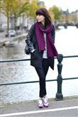 Uzun palto & spor ayakkabı - 8