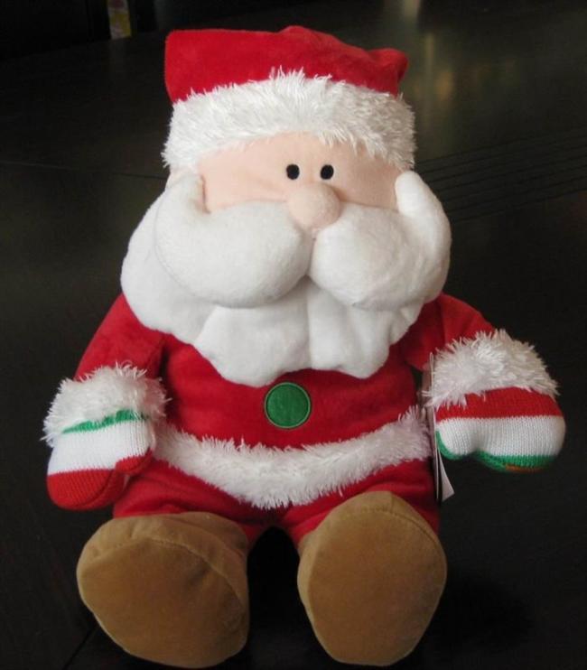 7- Peluş oyuncak  Sevimli, küçük ve kalıcı armağan düşünenler için peluş oyuncaklar oldukça ideal... Yılbaşına özel üretilen noel baba, geyik ya da çam ağacı tasarımlı peluşlarla sevdiklerinizi mutlu edebilirsiniz.