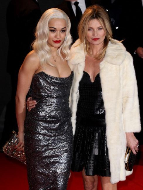 Rita Ora ve Kate Moss
