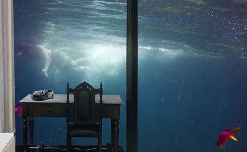 Yerçekimi Kalıntıları  Janet Bellotto illüzyon ile gerçeklik arasında gezinen çalışmalar üreten bir sanatçı. Su altı, okyanus, dalgalar... Akışkan olan suyun yansıması, kırılması kadar insanı görünümüyle arada bırakan hallerle ilgileniyor. Bu sergide ise bir afet anı yaşanması muhtemel sakin ev ortamlarını getiriyor gözünüzün önüne.  12 Aralık 2013–04 Aralık 2014  CDA Projects