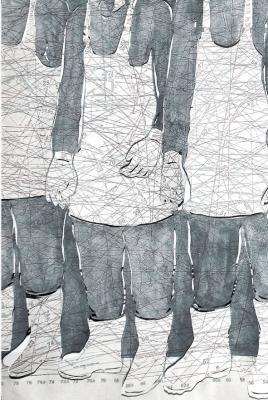 Eldiven Fabrikası  Çalışmalarını Almanya –Türkiye arasında sürdüren sanatçı, üretim sürecine başlangıçta kaynaklık eden seyahat ve yol hikayelerine, göç olgusunu ve varoluş hallerimize dair anlatıları da ekleyerek yoluna devam ediyor.   02 Ekim–07 Aralık 2013 Galeri Apel/Beyoğlu