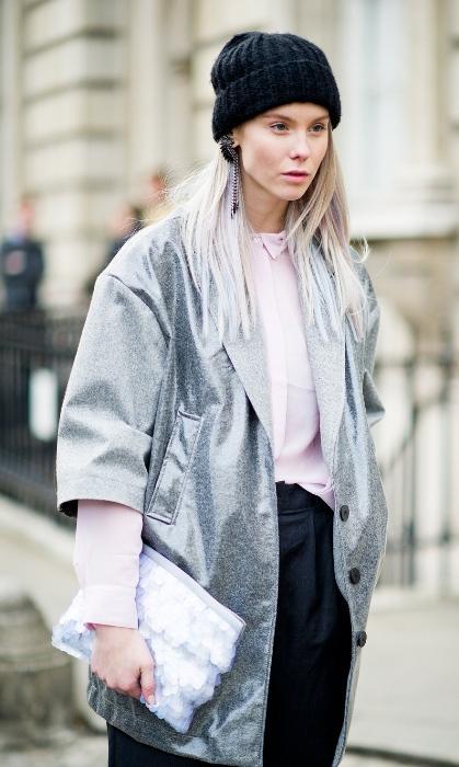 Metalik palto