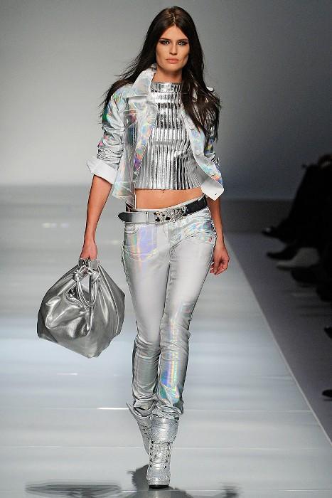 Metalik bluz