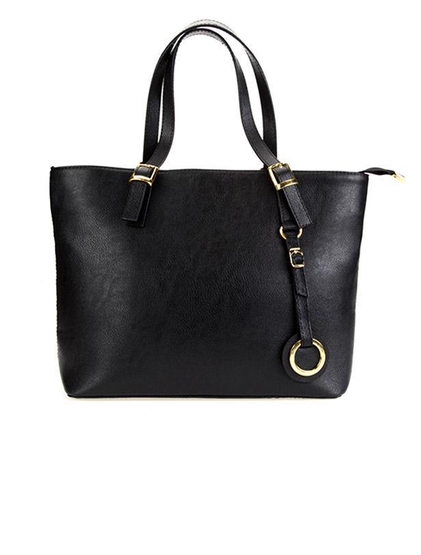 Son olarak kombininizi siyah elegance çanta ile tamamlayabilirsiniz.