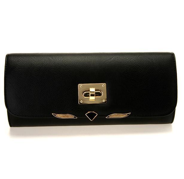 Dore detaylara sahip bu melek figürlü portföy çanta kombininiz için en doğru seçim olacaktır.