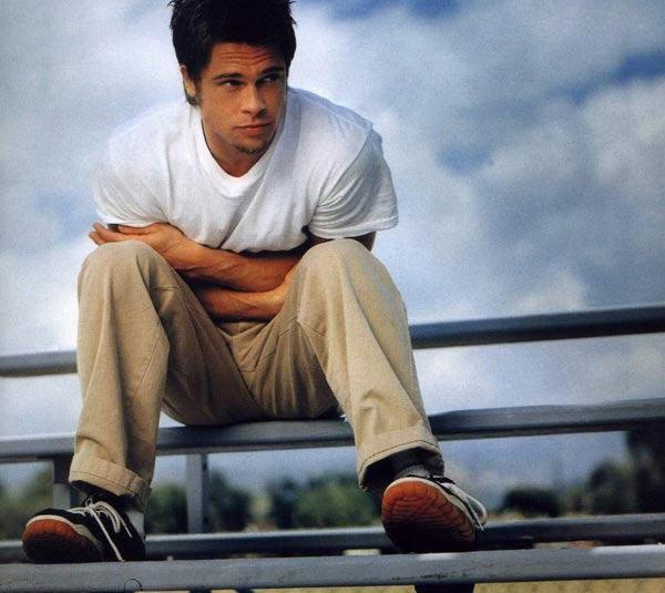 Brad Pitt'in Değişimi! - 8