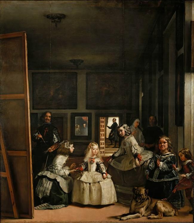 Diego Velazquez  Portekizli ressam, kendini sürekli yenileyerek yeteğine yetenek katmıştır. En ünlü yapıtı Las Maninasdır.  Nedimeler, 1656