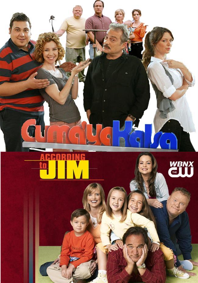 Cumaya Kalsa – According to Jim  Konusu Türk halkına yakın bir konu olsa da, uyarlama yeterince başarılı olamadığı için havada kalan ve oturmayan bir dizi oldu. Yoksa karısı ve çocuklarıyla yaşayan, baldızı ve kayınbiraderiyle başı dertte, biraz odun biraz sevecen baba, eşini sevdiği için her şeyi tolore eden bir anne komedisi tutardı. Olmadı. Ha bi' de Jim, Cuma olmayaydı iyiydi.
