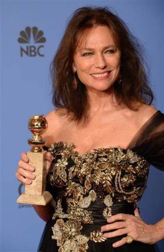 """""""Sanırım 47 yıl önceydi. Hollywood Yabancı Basın Birliği beni umut vaad eden oyuncu seçmişti. Tanrı bilir beni beş kez bu ödüle aday gösterdiniz"""" dedi."""