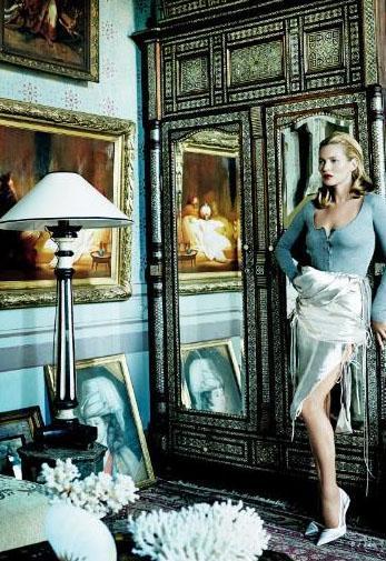 İkili, styling'ini ünlü stil editörü Tonne Goodman'ın üstlendiği çekimlerde moda dünyasının ses getiren fotoğrafçılarından Mario Testino'nun objektifine poz verdi.