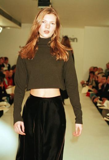 Kate Moss, ressam Lucian Freud tarafından da bir tabloda ölümsüzleştirildi.