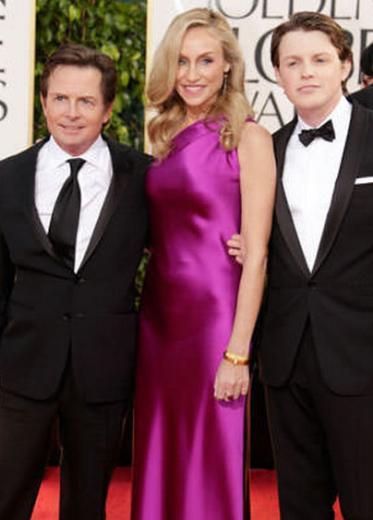 Michael J Fox, 1.63 cm boyunda.