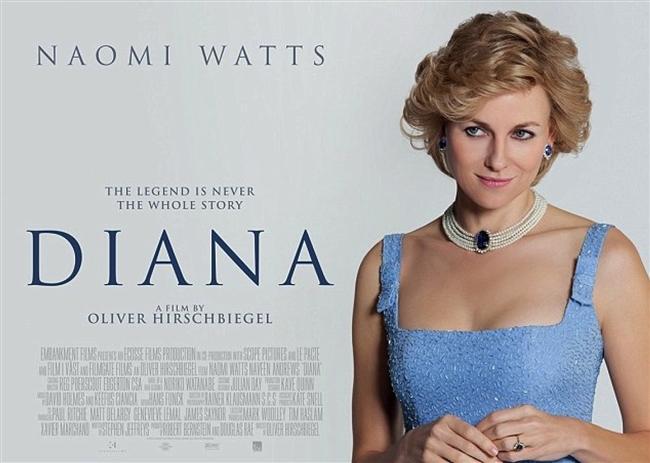 Diana  1997'de şüpheli bir trafik kazası ile hayatını kaybeden Prenses Diana'yı beyazperdeye taşıyan film, Leydi Di ve onun Dodi Fayed'den önceki Pakistanlı sevgilisi kalp cerrahı Hasat Khan ile olan ilişkisine odaklanıyor. Kimilerine göre Dr. Hasnat Kahn, Leydi Diana'nın hayatının aşkıydı ve iki yıl süren bu ilişkiden sonra derin bir aşk acısı yaşamaya başladı. Bu süreçte Dodi Al-Fayed ile birlikte olmaya başlaması kimilerine göre Kahn'ı unutumadığı ve bu şekilde cezalandırdığı içindi. 1997 yılında şaibeli bir trafik kazası meydana geldi ve henüz 36 yaşında Leydi Diana, tüm bu sırları da yanına alarak hayata veda etti. Bu kaza sadece kraliyet ailesi için değil, tüm dünya için büyük bir şoktu.