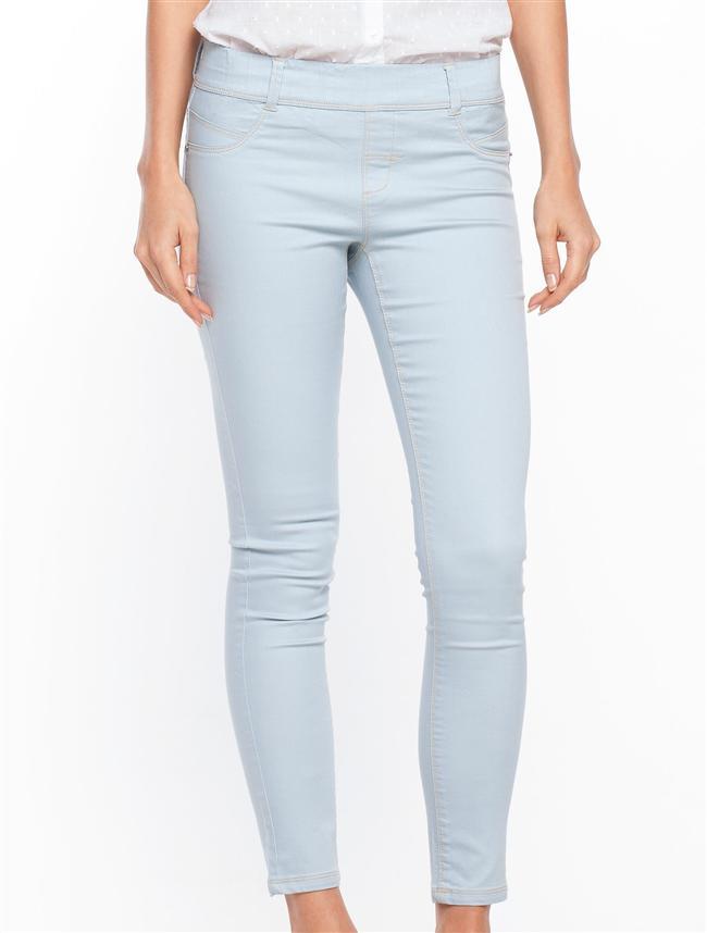 Düşük bel ve dar paçası ile üzerinizde fit bir görünüm sağlayacak skinny pantolon