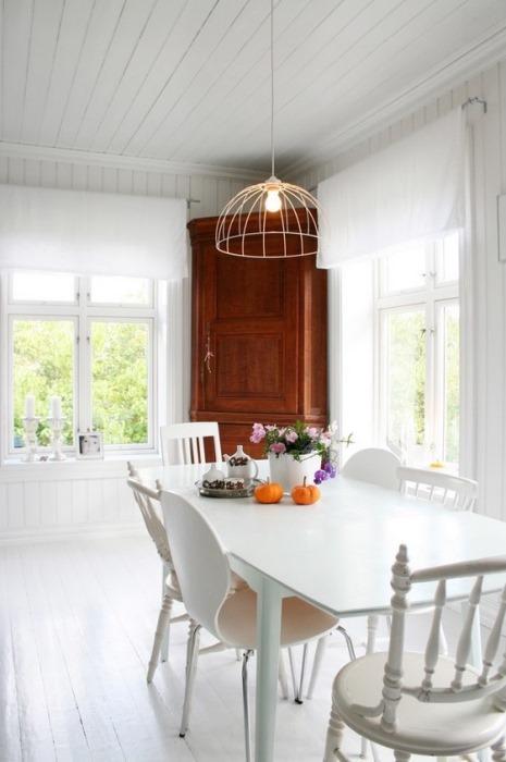 Beyaz ev tasarımları - 30
