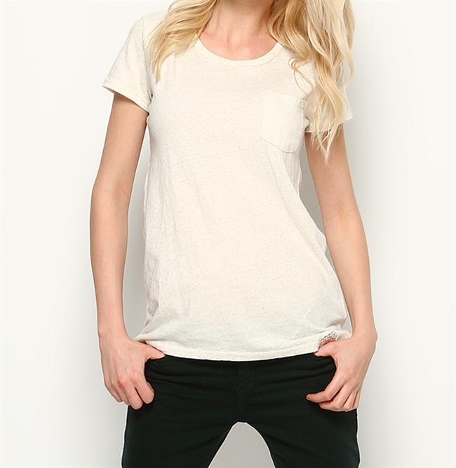 Kırçıllı kısa kollu tişört