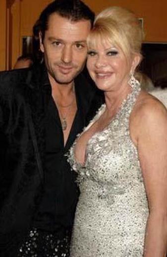 60 yaşına yaklaşan Ivana Trump, kendisinden 24 yaş küçük Rossano Rubicondo ile dünyaevine girdi.