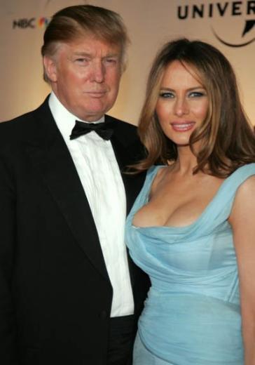 Donald Trump'ın eşi Melanie kendisinden 24 yaş genç.