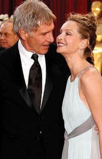 Beyazperdenin Indiana Jones'u Harrison Ford'un hayat arkadaşı Calista Flockhart da kendisinden 22 yaş daha genç.