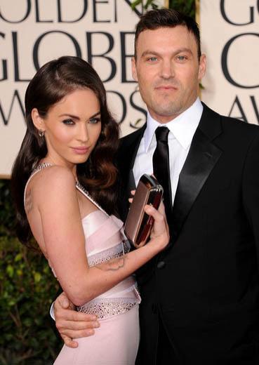 Megan Fox'un eşi Brian Austin Green kendisinden 13 yaş daha büyük.