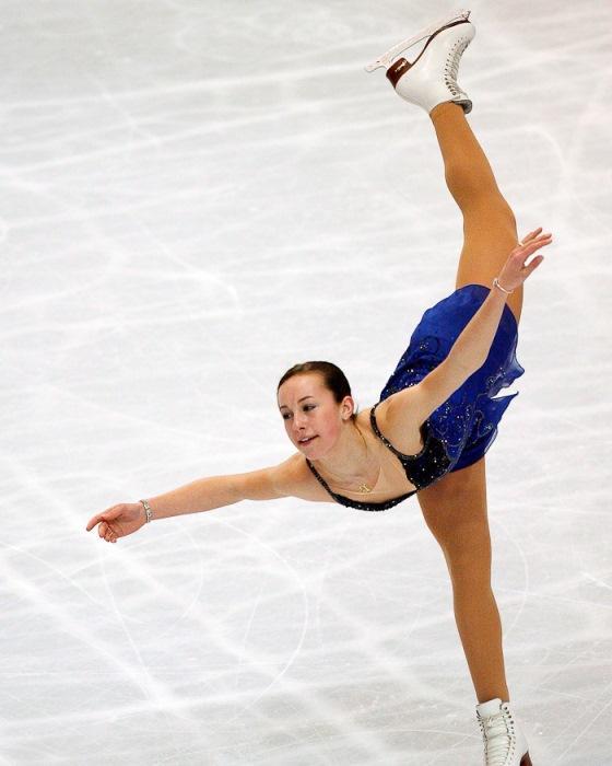 """Kimberly Claire """"Kimmie"""" Meissner-ABD  2004,2006 ve 2007 yıllarında yarışmalara katılan Kimberly, 2007 yılında katıldığı Dört Kıta Şampiyonasın da altın madalya kazanmıştır."""