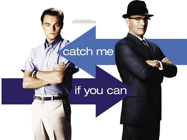 Catch Me If You Can - Sıkıysa Yakala  Frank Abagnale Jr.'nin hayat öyküsünden esinlenilerek oluşturulan 2002 yapımı komedi-drama türünde bir sinema filmidir. Steven Spielberg'in yönetmenliğini üstlendiği filmde, 19 yaşında dahi olmayan Frank Abagnale Jr.'ın, Pan American World havayolu şirketinde pilot, Georgia'da doktor ve Louisiana'da savcı kılığına bürünerek milyonlarca dolarlık çek sahtekârlığıni nasıl yaptığı anlatılmaktadır.