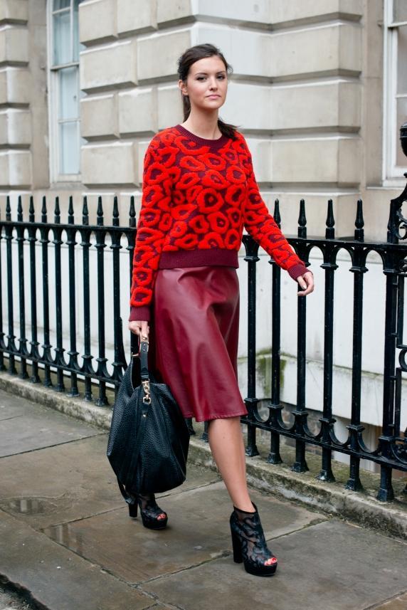 Londra Moda Haftası'ndan sokak stilleri - 7
