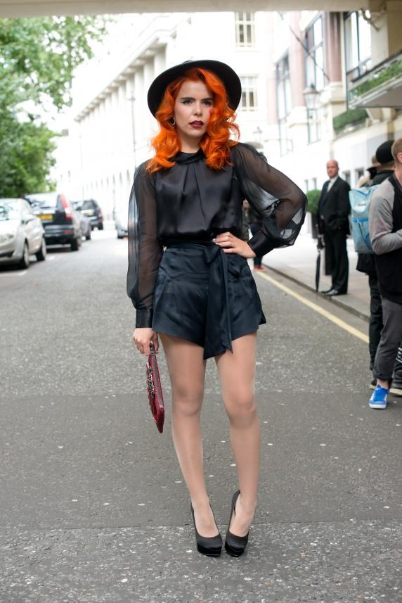 Londra Moda Haftası'ndan sokak stilleri - 10