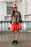 Londra Moda Haftası'ndan sokak stilleri - 2