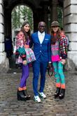 Londra Moda Haftası'ndan sokak stilleri - 5
