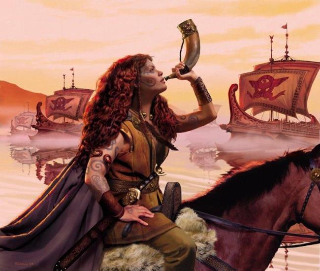 Boudicca  Kocası Britanya adasının en önemli klanlarının birinin başındaydı. Kocasının ölmesi üzerine Romalılar ülkesini yıkıma doğru sürükledi. Bu yıkıma karşı duran ve tüm klanları birleştiren Boudica direnişin sembolü oldu.