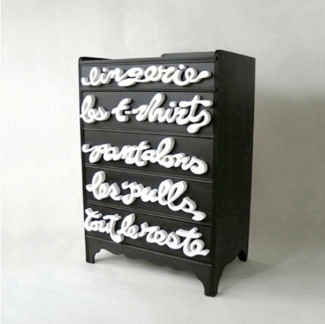 Tipografik ev aksesuarı tasarımları - 70