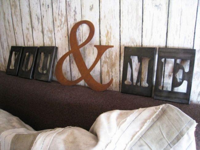 Tipografik ev aksesuarı tasarımları - 31