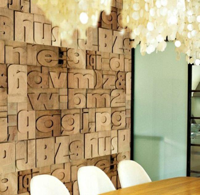 Tipografik ev aksesuarı tasarımları - 67