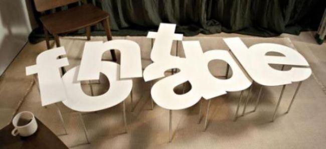 Tipografik ev aksesuarı tasarımları - 23