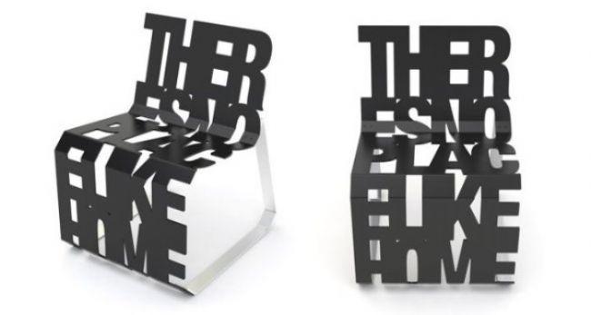Tipografik ev aksesuarı tasarımları - 24