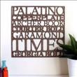 Tipografik ev aksesuarı tasarımları - 45