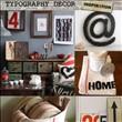 Tipografik ev aksesuarı tasarımları - 64