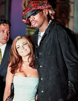 Carmen Electra ve Dennis Rodman - 9 gün sürdü.
